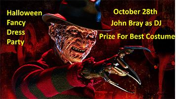 John Bray's Halloween Disco and Fancy Dress Party