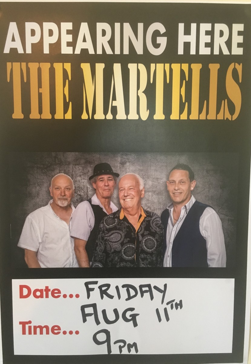 APPEARING HERE THE MARTELLS