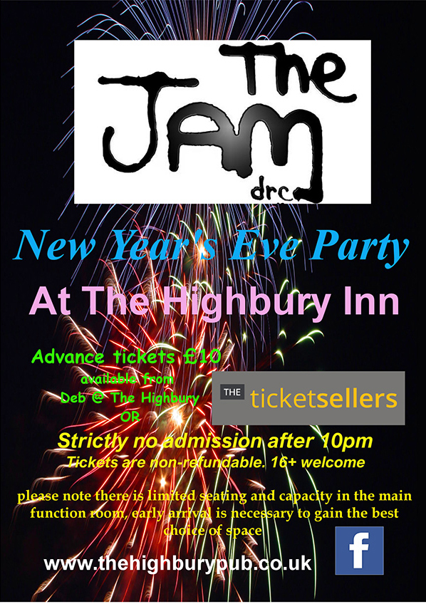 The Jam DRC NYE Party