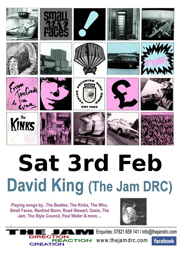 David King (The Jam DRC)