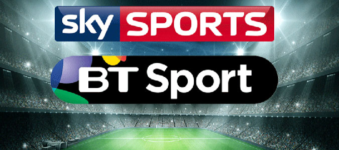 Image result for SKY SPORTS AND BT SPORTS LIVE HERE