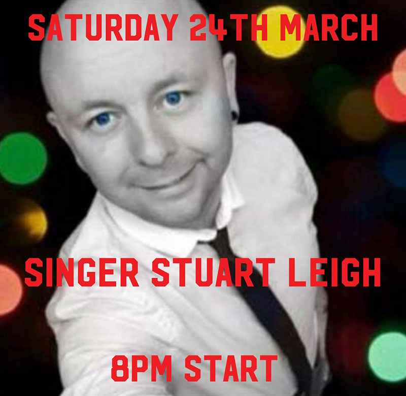 SINGER STUART LEIGH