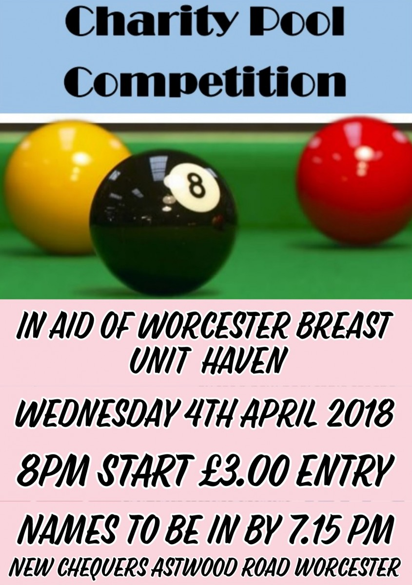 CHARITY POOL COMPETITION
