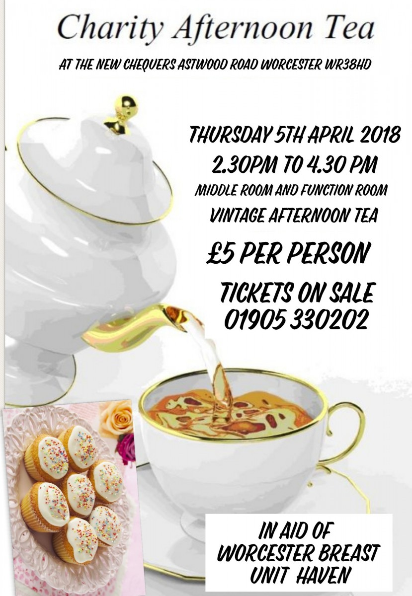 CHARITY AFTERNOON TEA
