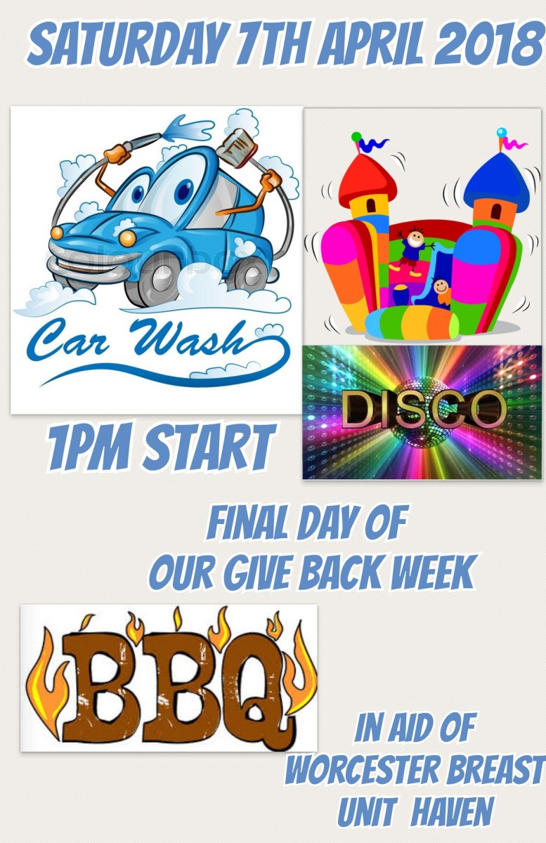 FINAL DAY OF OUR GIVE BACK WEEK