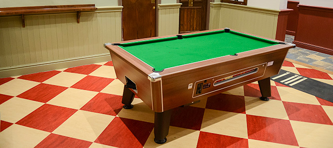 The Imperial Hotel, Crewe, Poo Table