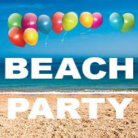 Family Summer Beach Party