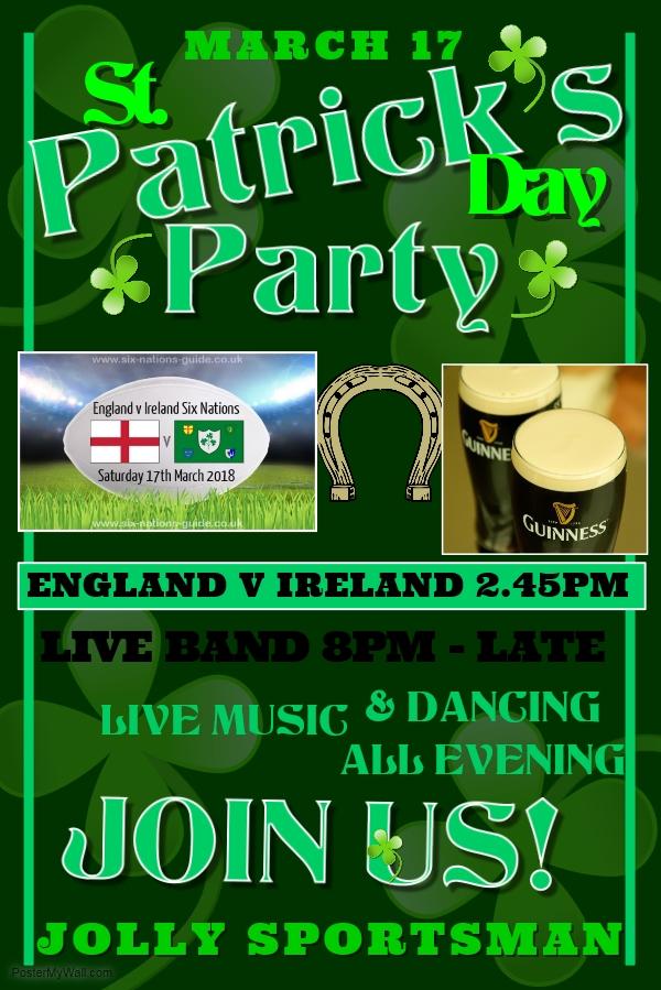 St. Patrick's Party