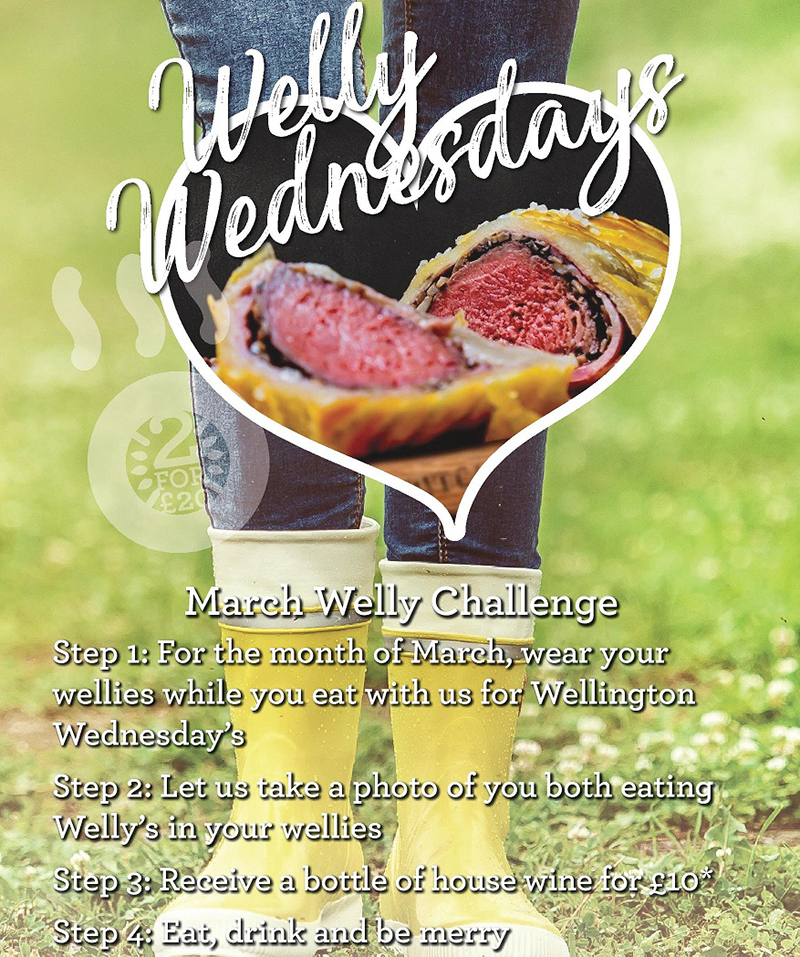 WELLY WEDNESDAYS