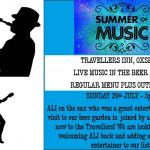 Sax and Guitar at the Travellers